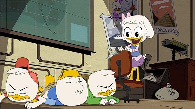 image zaza riri fifi loulou épisode 1 reboot la bande à picsou ducktales disney
