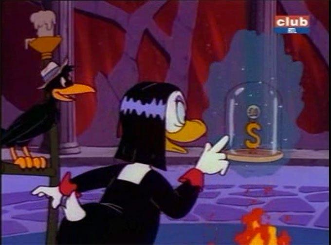 image miss tick corbeau bien mal acquis ne profite jamais la bande à picsou