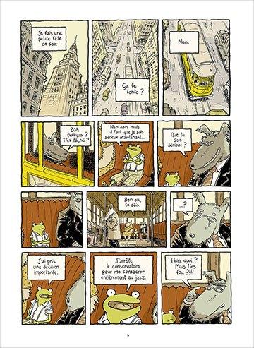 image page 9 le petit rêve de georges frog phicil drac éditions soleil collection métamorphose