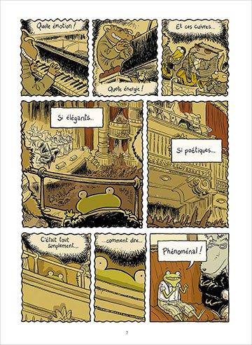 image planche 1 le petit rêve de georges frog phicil drac éditions soleil collection métamorphose