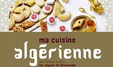 image gros plan couverture ma cuisine algérienne sherazade laoudedj solar éditions