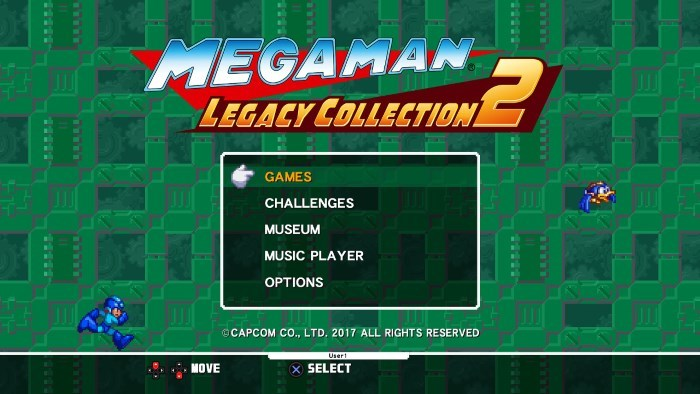 image test mega man legacy collection 2