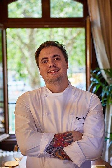 image portrait ryan pearson chef cuisinier two stories paris
