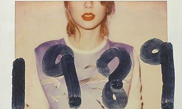 image gros plan pochette album 1989 taylor swift édition deluxe