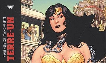 image gros plan couverture wonder woman terre un tome 1 urban comics