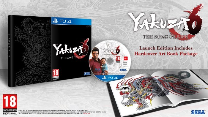 image launch edition yakuza 6