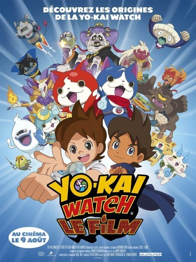 image affiche yo-kai watch film