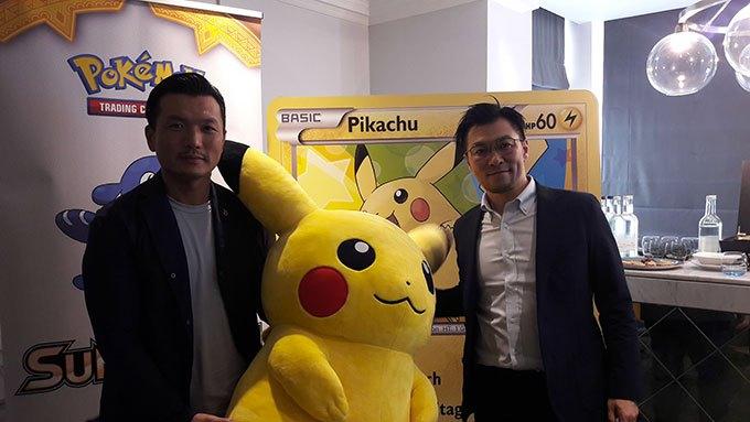 image yugi kitano atsushi nagashima pokémon jcc ombres ardentes european press tour