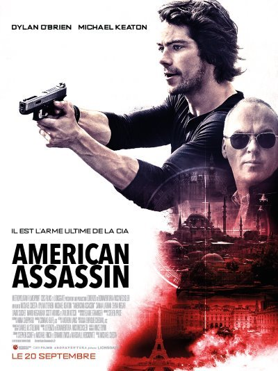 image affiche american assassin