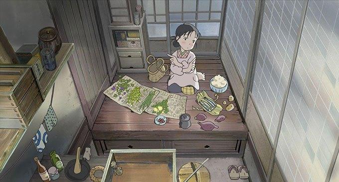 image suzu cuisine dans un recoin de ce monde sunao katabuchi