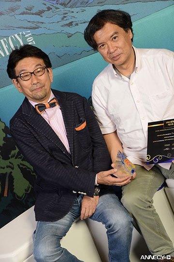 image sunao katabuchi remise prix du jury festival du film d'animation d'annecy 2017