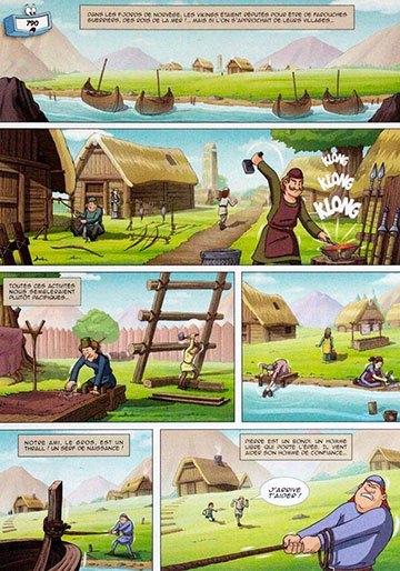 image planche viking il était une fois l'homme tome 3 les vikings éditions soleil