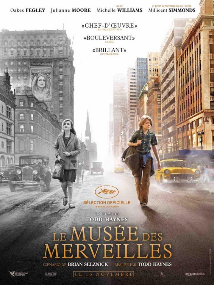 image todd haynes le musée des merveilles poster affiche