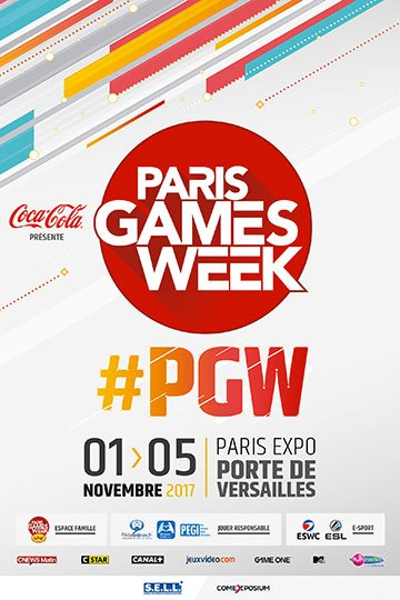 image affiche paris games week 2017