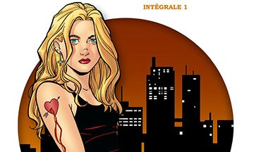image gros plan couverture strangers in paradise intégrale 1 terry moore éditions delcourt