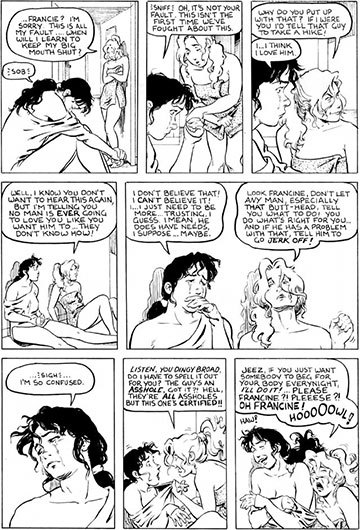 image planche vo strangers in paradise1 terry moore