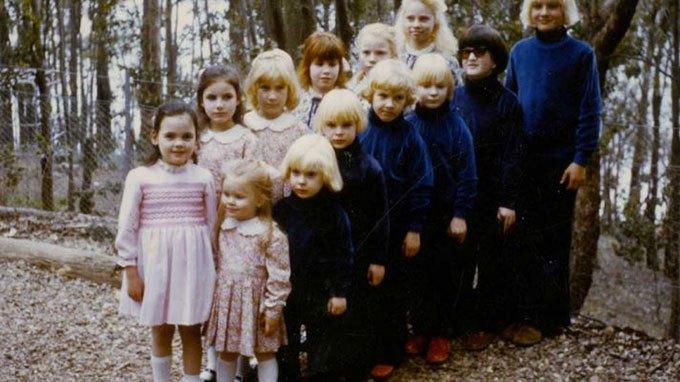 image capture vidéo d'archive the family documentaire rosie jones