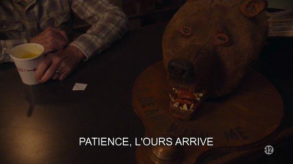 image ours patience big ed twin peaks saison 3 épisode 13