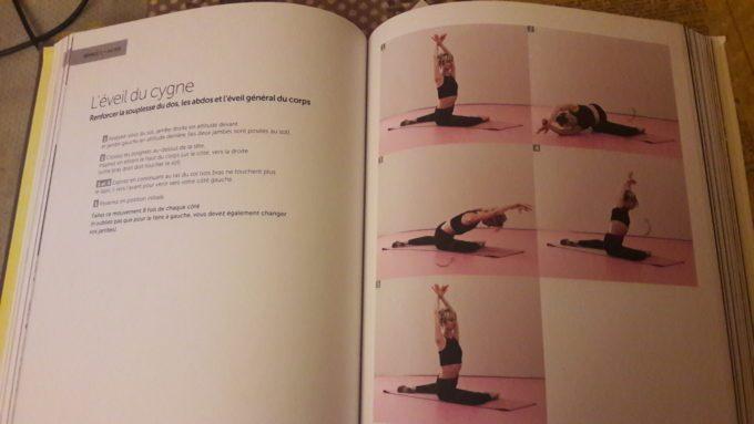 image étirements livre fit'ballet octavie escure hachette pratique