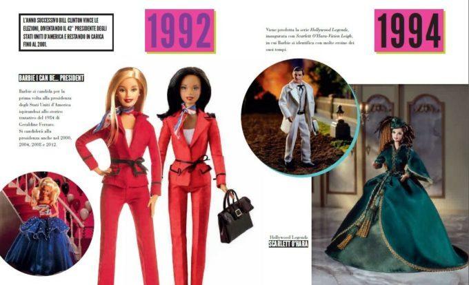 image poupées collection élections présidentielles autant en emporte le vent livre barbie the icon massimiliano capella