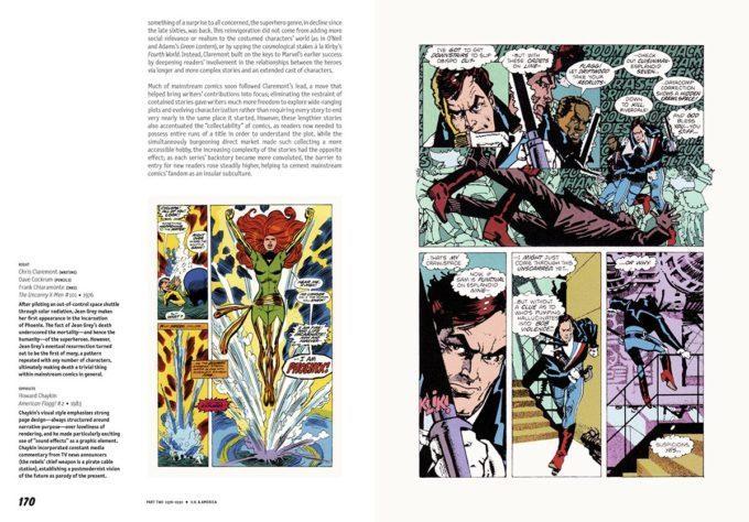 image double page x-men comics dan mazur alexander danner