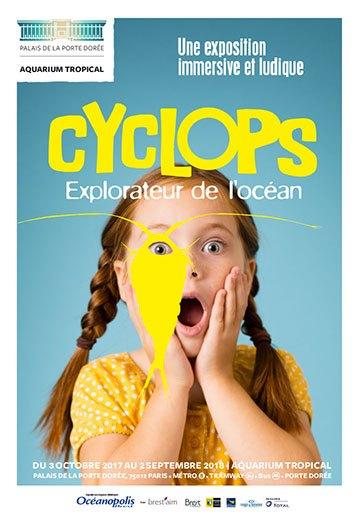 image affiche exposition cyclops l'explorateur d'océan aquarium tropical de la porte dorée paris