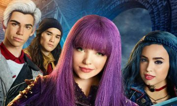 image gros plan affiche descendants 2 disney channel