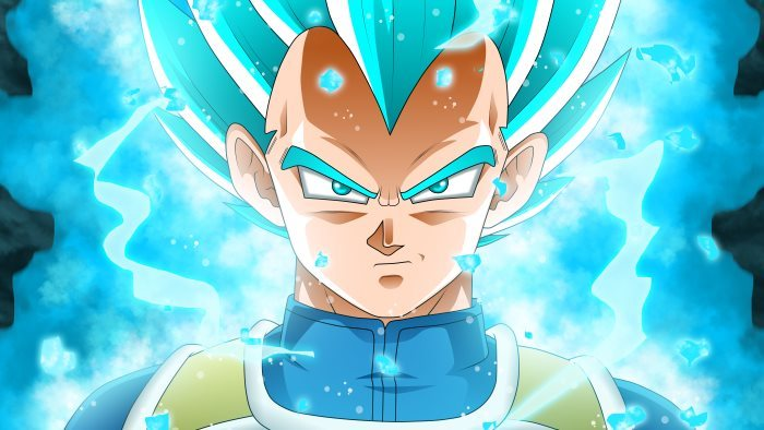image vegeta bleu dragon ball super