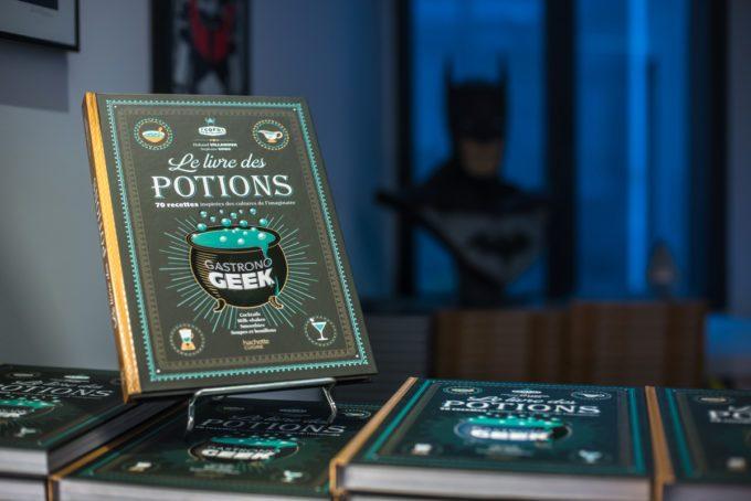 image livre des potions gastronogeek lancement