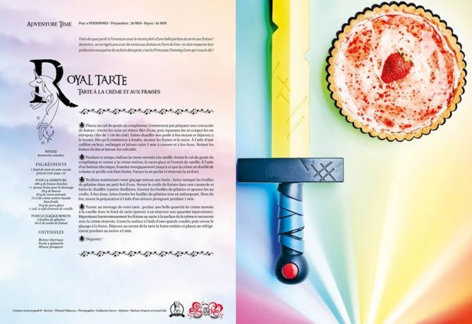 image tarte royale adventure time geek and pastry gastronogeek hachette heroes