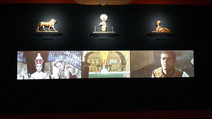 image comparatif cléopâtre expo goscinny et le cinéma