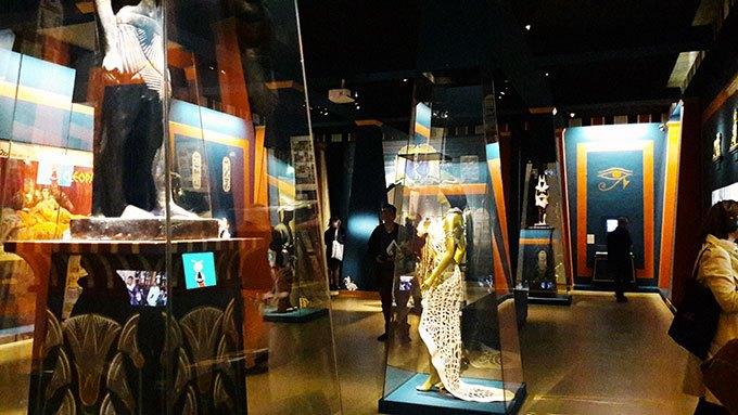image salle astérix egypte exposition goscinny et le cinéma cinémathèque française paris