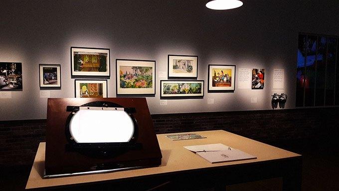 image salle studios idéfix exposition goscinny et le cinéma cinémathèque française paris