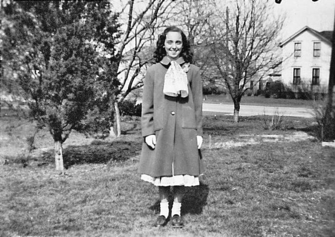 image joyce carol oates 11 ans pâques avril 1949 paysage perdu