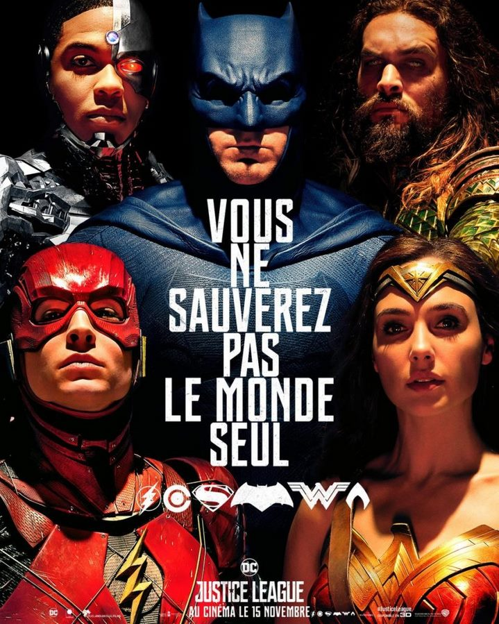image zack snyder poster justice league