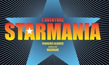 image gros plan couverture l'aventure starmania françois alquier éditions hors collection