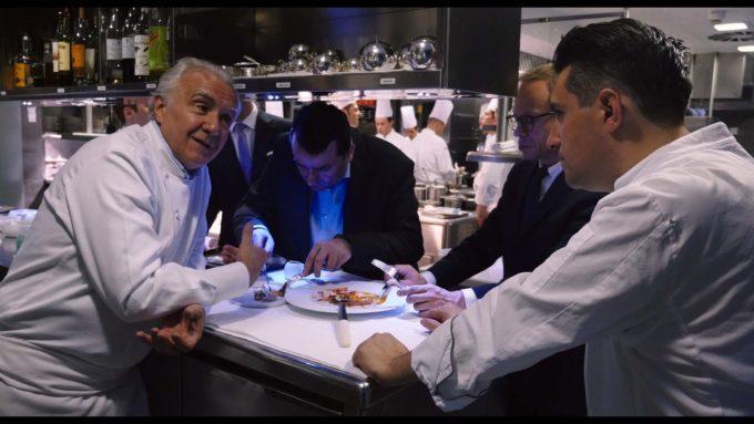 image restaurant londres la quête d'alain ducasse