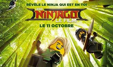 image gros plan affiche film lego ninjago