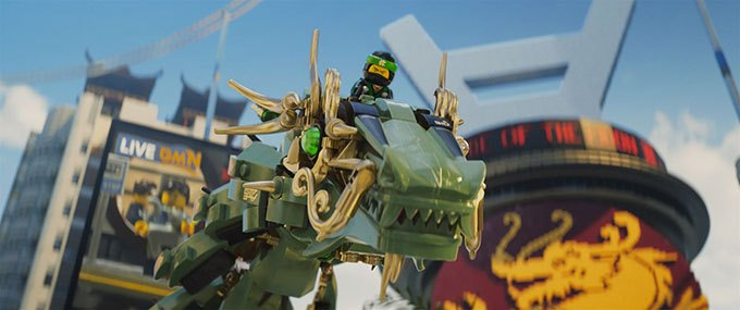 image ninja dragon lego ninjago le film