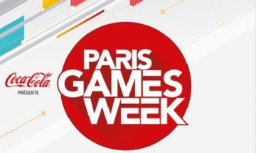 image gros plan affiche paris games week 2017