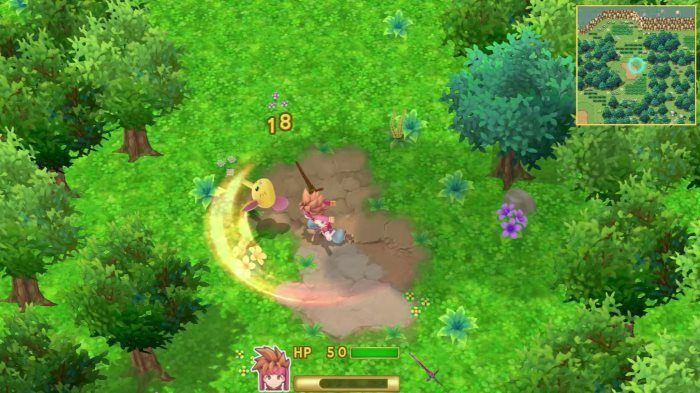 image combat secret of mana