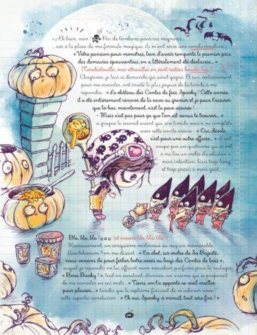 image planche 3 spooky et les contes de travers tome 3 carine m élian black'mor glénat jeunesse
