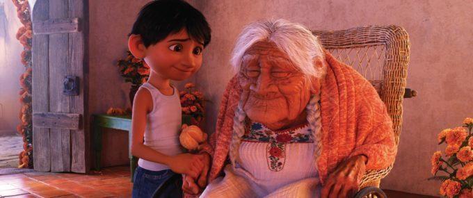 image miguel arrière grand-mère coco disney pixar