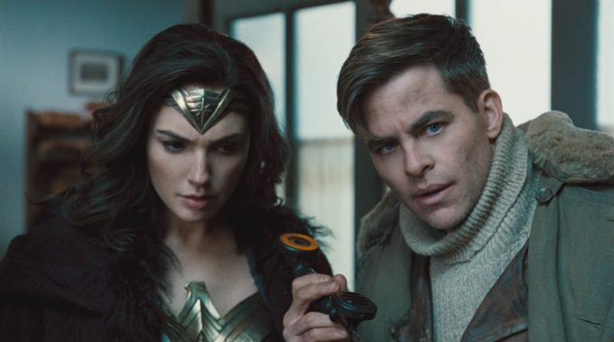 image gal gadot chris pine wonder woman film