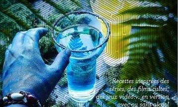 image gros plan couverture cocktails pour les geeks liguori lecomte éditions solar