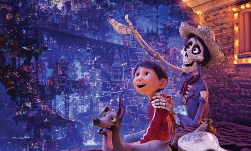 image gros plan affiche coco disney pixar lee unkrich