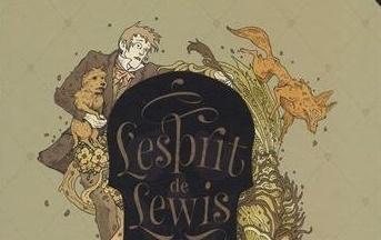 image gros plan couverture l'esprit de lewis bertrand santini lionel richerand éditions soleil collection métamorphose