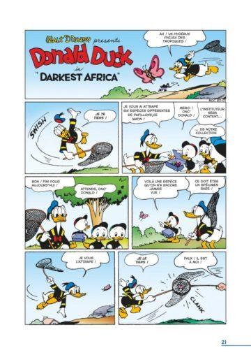 image planche 1 la dynastie donald duck tome 23 carl barks glénat
