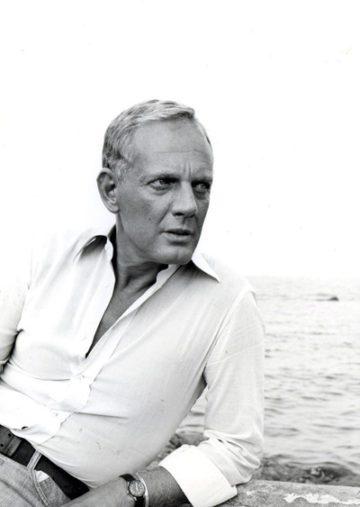 image portrait noir et blanc loris azzaro cinquante ans d'éclat éditions de la martinière