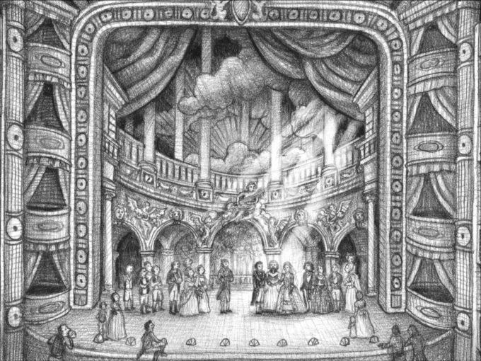 image royal theatre les marvels brian selznick bayard jeunesse